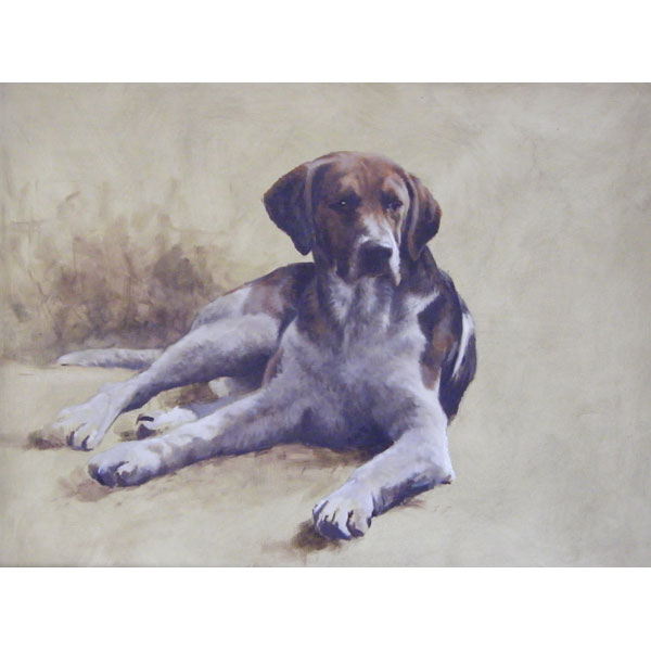 Holderness Foxhound - Large Oil